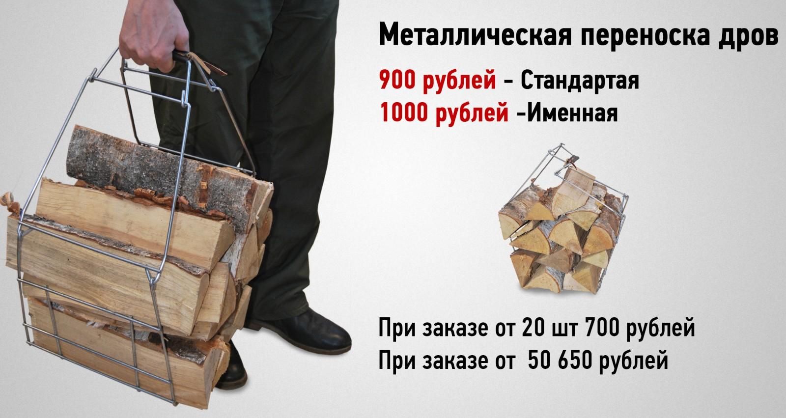 Приспособление для переноски дров. Изготовление металлических сеток для переноски дров в СПб.